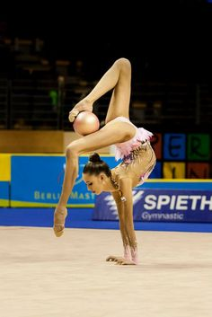 Rhythmic gymnastics.  I belive that we landed on the moon.  Some of the tings these girls do...hard to believe.