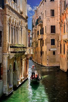 The Gondolier, Venice, Italy.......definitely on my list of things to do while in Venice ♥