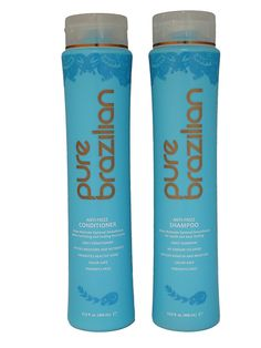 Pure Brazilian Anti-Frizz Shampoo and Conditioner 13.5oz Duo Set >>> See this great product.