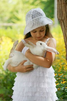 Little white rabbit .. Click the pic for more aww