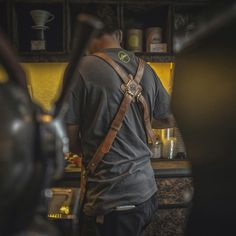 Apron barista