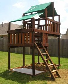 High Quality Adventurer Wooden Swing Sets / Fort Kits | Childrenu0027s Playsets | Pinterest  | Swings, High Deck And Forts