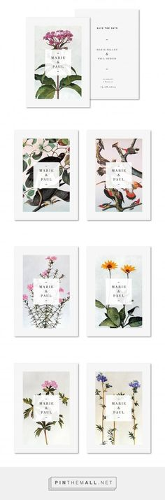 초대장 여러가지 꽃 랜덤 Marie et Paul. Beautiful branding and design. Layout Design, Design De Configuration, Graphisches Design, Buch Design, Print Design, Design Cars, Paul Design, Design Ideas, Poster Design