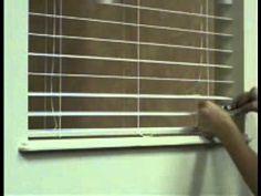 how to repair broken mini blinds slats damage horizontal blinds