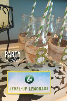 Skylanders Birthday Party DIY Printable Table Tent by partyinvites, $6.00