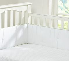 ABC Crib Fitted Sheet #PotteryBarnKids