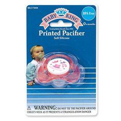 Baby King Printed Pacifier Bpa Free