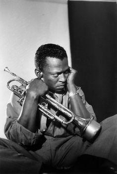 Miles Davis, 1955, by Aram Avakian