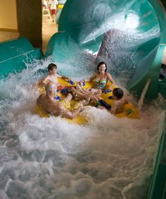 The Wilderness Territory, in Wisconsin Dells, is America's Largest Waterpark Resort. It features 4 indoor and 4 outdoor waterparks, which are home to some of the amusement industry's most thrilling water rides.