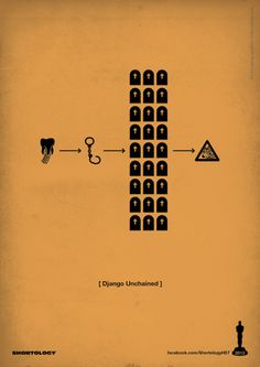 New Pictogram Posters of Oscar's Best Picture Nominees - My Modern Metropolis