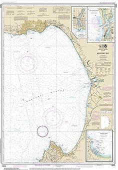 Monterey Bay Nautical Chart printed on sailcloth for home décor wall art print. Unique Textile Printing http://www.amazon.com/dp/B00P6MX6QC/ref=cm_sw_r_pi_dp_IJ0.ub1S4EK7J