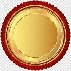 Round red and gold logo, , Gold Red Seal Badge transparent background PNG clipart Chinese Background, Star Background, Watermark Ideas, Round Logo Design, Happy Birthday Illustration, Certificate Background, Ribbon Png, Wave Illustration, Badge Template