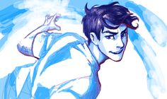 Percy Jackson by burdge.tumblr.com