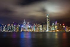 Hong Kong Skyline Credit: flickr