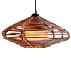 New Handmade Modern Rattan Ceiling Pendant Lamp Lighting Fixture Chandelier #OUOVO #Country