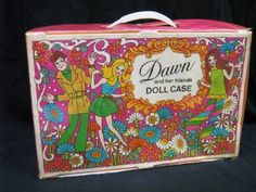 Dawn Doll Case, I have this still! Thanks For The Memories, Great Memories, Childhood Games, Childhood Memories, Vintage Dolls, Vintage Stuff, Vintage Signs, Barbie Doll Case, Dawn Dolls