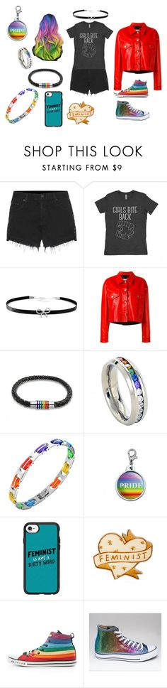 """Modern Women Can't be Restrained"" by bobbellabob on Polyvore featuring rag & bone, Giani Bernini, Golden Goose, Bling Jewelry, Rainbow, Casetify and modern"