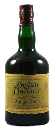 English Harbour 5 Year Old Antigua Rum one of our great rums in Antigua and Barbuda, do we go for on the rocks or a twist of lime? How do you like it?