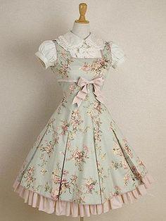 sweet lolita! I want this so bad! #lolita #japan #harajukudistrict