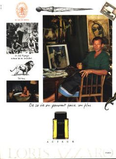 Acteur by Loris Azzaro (1991).
