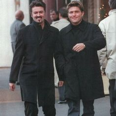 My blog: george michael and kenny goss