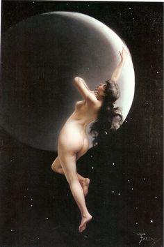 Moon Nymph by Luis Ricardo Falero