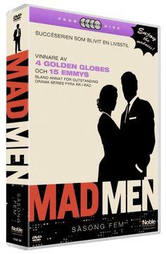 Mad Men - Säsong 5 (4 disc) (DVD)