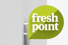 Fresh Point signage by Designers Anonymous