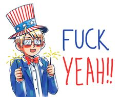 I'm an American and I can confirm that this is exactly how we act on July 4th.