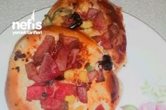 Porsiyonluk Poğaça Pizza Tarifi
