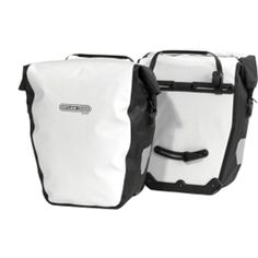 6872dcf180 Ortlieb Back-Roller City Rear Pannier: Pair; White/Black