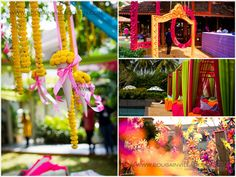 Mehendi Wedding Decor - WMG Dream Team Photographers, Designers, Invites and more added in May ! Wedding Goals, Plan Your Wedding, Wedding Planning, Outdoor Wedding Decorations, Flower Decorations, Big Indian Wedding, Indian Weddings, Mehndi Decor, Mehendi
