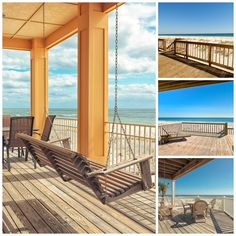 Sit back, relax and enjoy the views from these fantastic Gulf front balconies in Gulf Shores & Orange Beach!