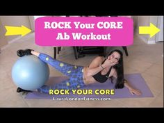 Rock Your Core Workout with Laura London Fitness