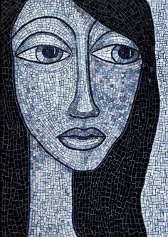 Marisol by Jacki Gran - I love this mosaic. It catches my attention every time I glance at it and I always stop to look. Very pretty.