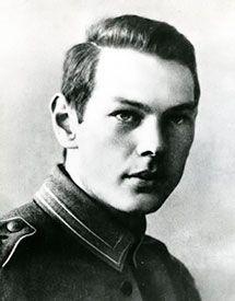 Richard Sorge en 1915, a los 19 años de edad.