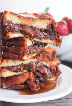 Nutella, Bacon & French Toast