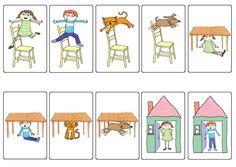 Preposition Uno/ Preposition Sort