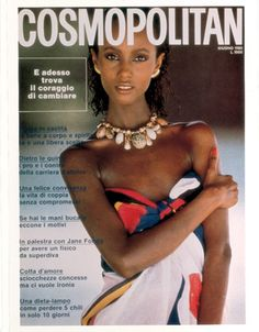 Cosmopolitan: Iman