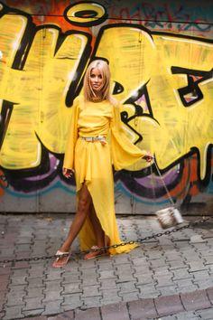 yellow dress alina ceusan - Căutare Google