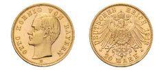 Peter Rapp AG - Internationale Briefmarkenauktionen - Spitzenergebnisse 2014 /     Königreich Bayern: Otto, 1886-1913. 20 Mark 1913 D. J. 200. Verkaufspreis*: CHF 26'840.–