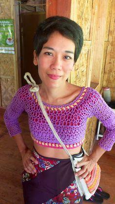 FATIMA CROCHET: Crochetology Problem: Two Stitch Patterns and Slee...