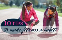 Ever wonder how consistent exercisers stick with a fitness plan? Start building better fitness habits for life with these tried-and-true tips! Health And Fitness Tips, Fitness Goals, Fitness Plan, Fitness Motivation, Health Tips, Health Care, Toning Workouts, Fun Workouts, Exercises