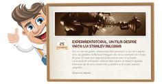 Experimentatorul e un film dedicat acelora dintre voi care sunt dispuși să iasă din granița de confort personal pentru 100 de minute.