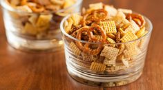 Duck-Fat Chex  Mix