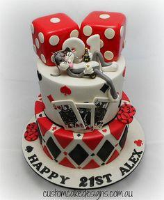Hangover in Vegas Cake | Flickr - Photo Sharing!