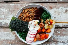 A Buddha Bowl is the perfect formula meal! This roundup provides the best of Buddha Bowl inspiration with recipes that offer balance and variety.