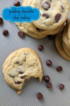 Vanilla Pudding Chocolate Chip Cookies - MOMMY ON DEMAND