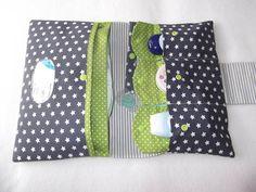 Pannolini pannolino borsa grigio  verde