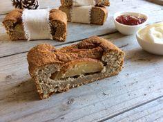 Kerstspecial / Ontbijtcake a la scones met appel, koekkruiden en heerlijke toppings